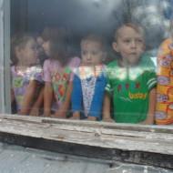traurige Kinder