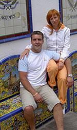 Natallia und Andreas