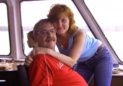 Olena und Norbert