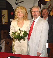 Svetlana und Gerhard