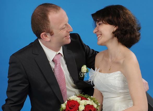 Catherine und Andreas