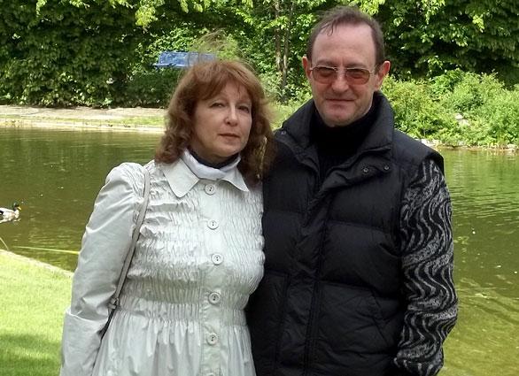 Lyudmila und Ronny