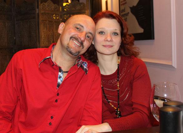 Valeriya und Oliver