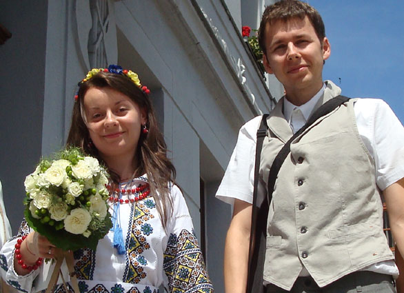 Oksana und Eric