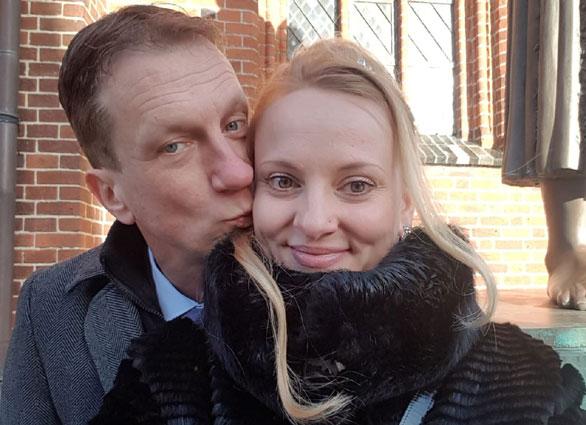 Liudmila und Jörg